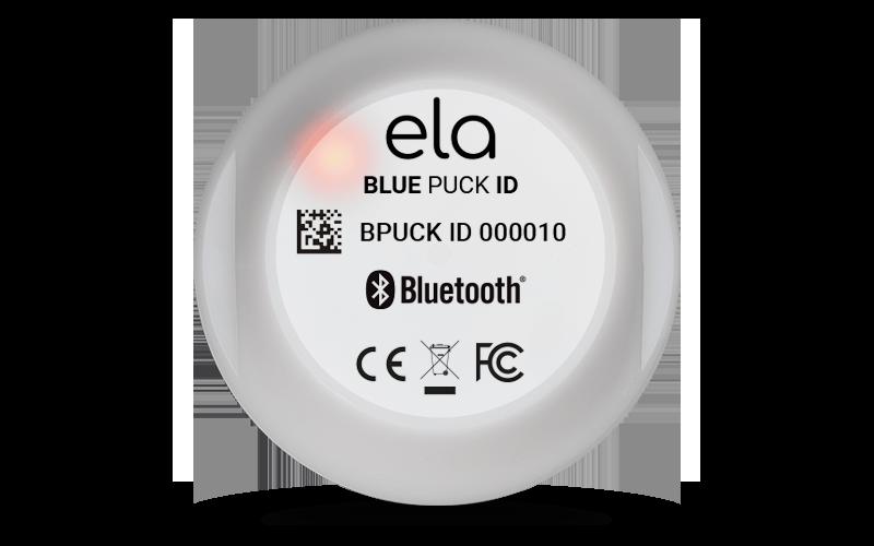 Blue PUCK ID LED