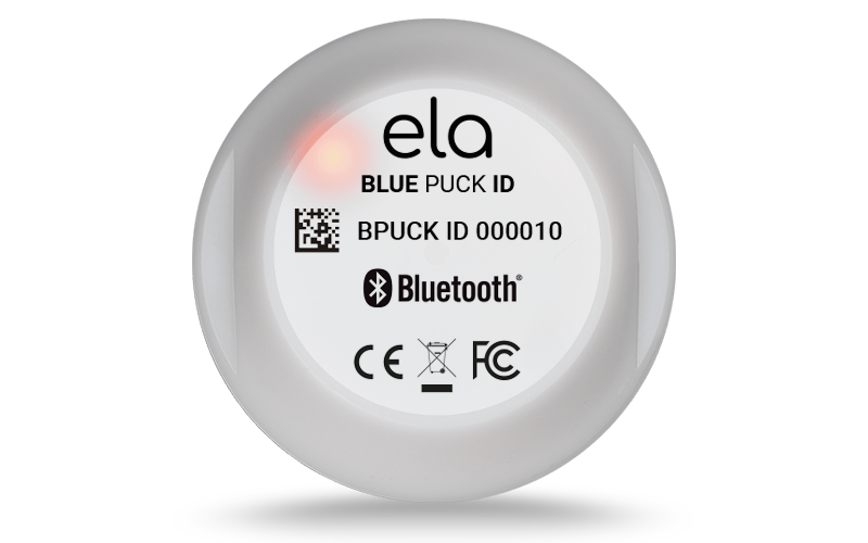 Beacon BLE - Blue PUCK ID LED