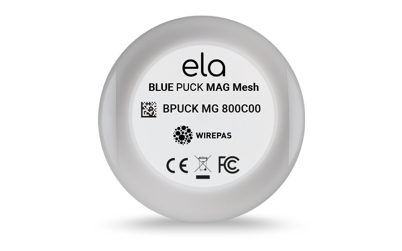 Blue PUCK MAG Mesh Face