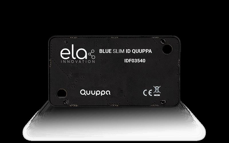Blue SLIM ID QUUPPA