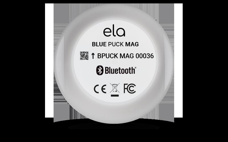 Blue PUCK MAG Debout