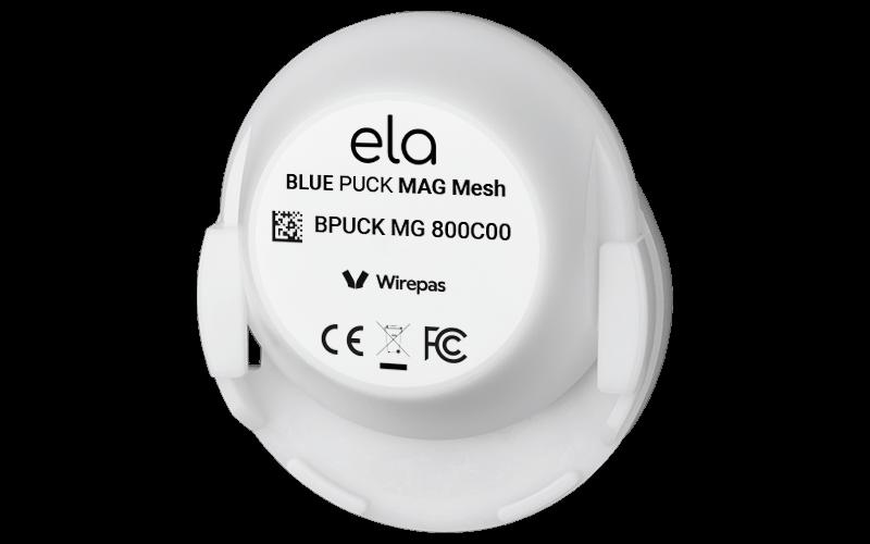 Blue PUCK MAG Mesh Holder