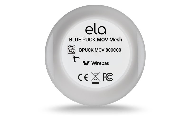 Blue PUCK MOV MESH face