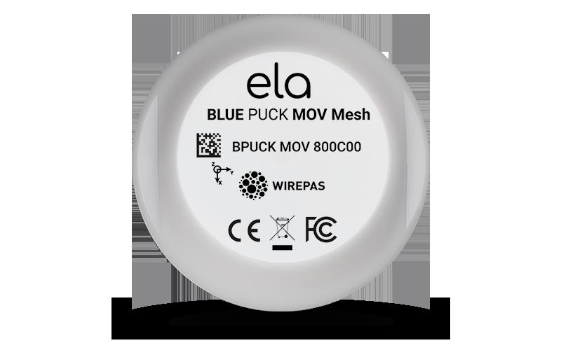 Blue PUCK MOV Mesh