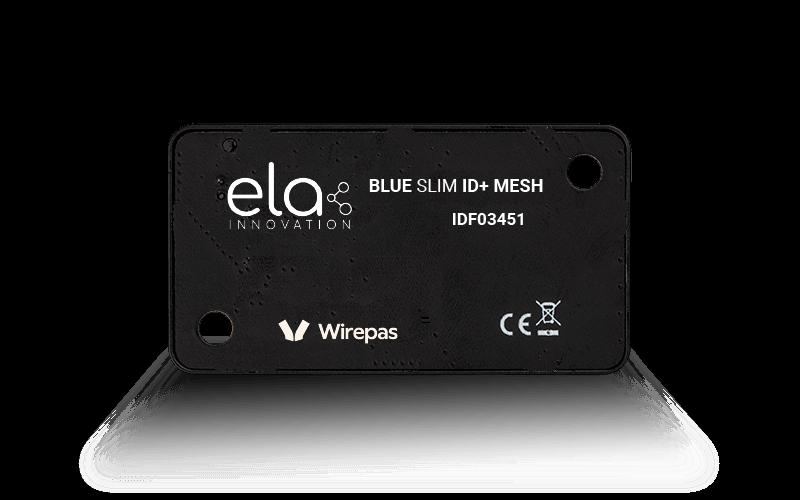 Blue SLIM ID+ Mesh vue face