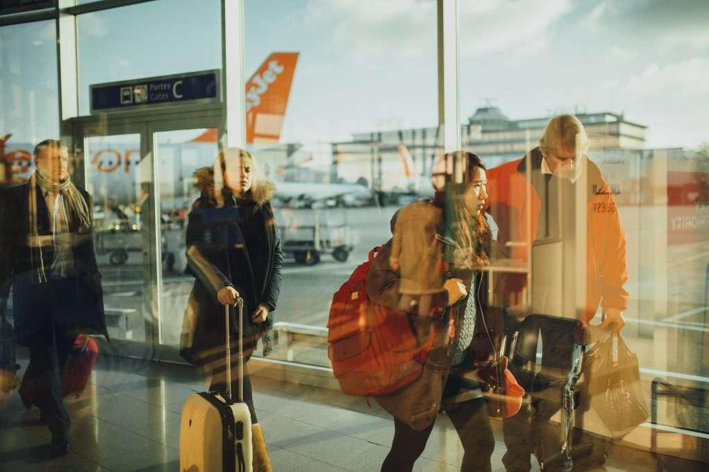 localisation passager aéroport