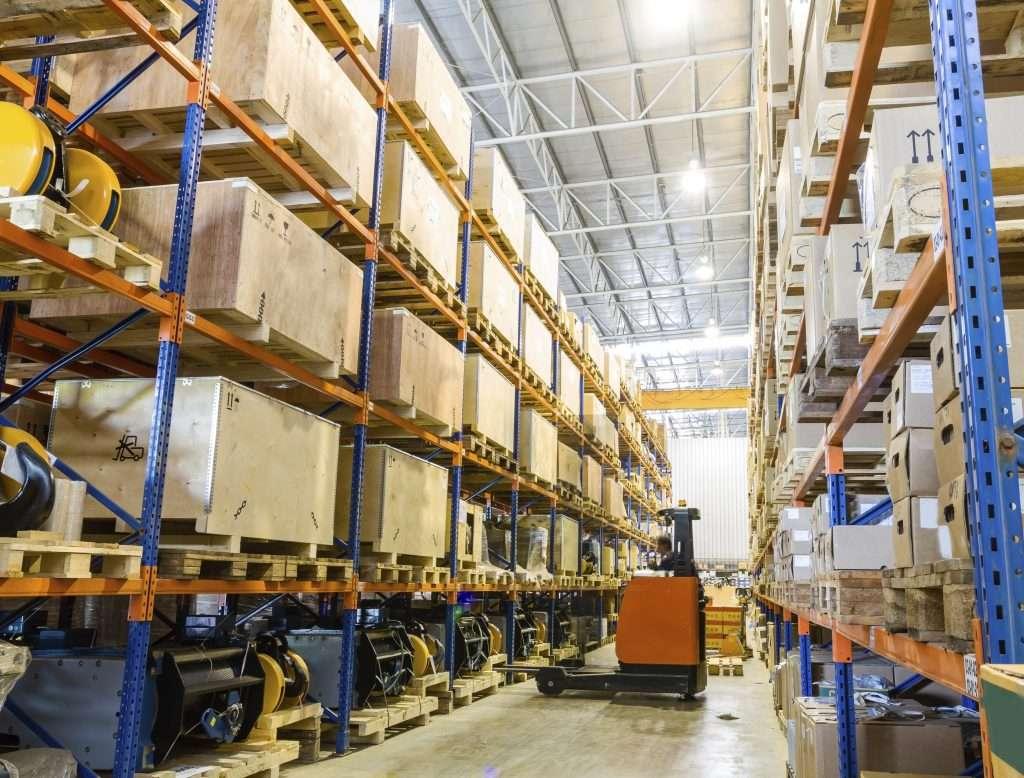 Logistique étagères