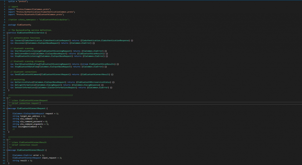 Exemple de code SDK