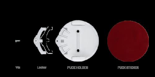 Support de beacons et capteurs ELA innovation-PUCK HOLDER STICKER