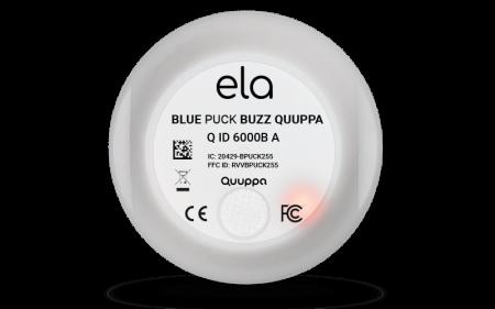 Blue PUCK BUZZ QUUPPA LED